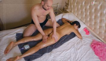 Happy End Massage and a Spy Cam